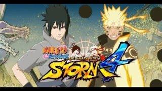 Jugando....Naruto Shippuden Ultimate Ninja Storm 4