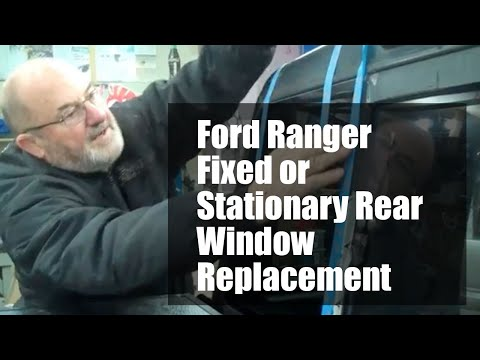 FORD RANGER rear window replacement