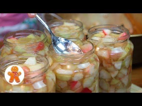 Заготовки из яблок на зиму золотые рецепты в мультиварке