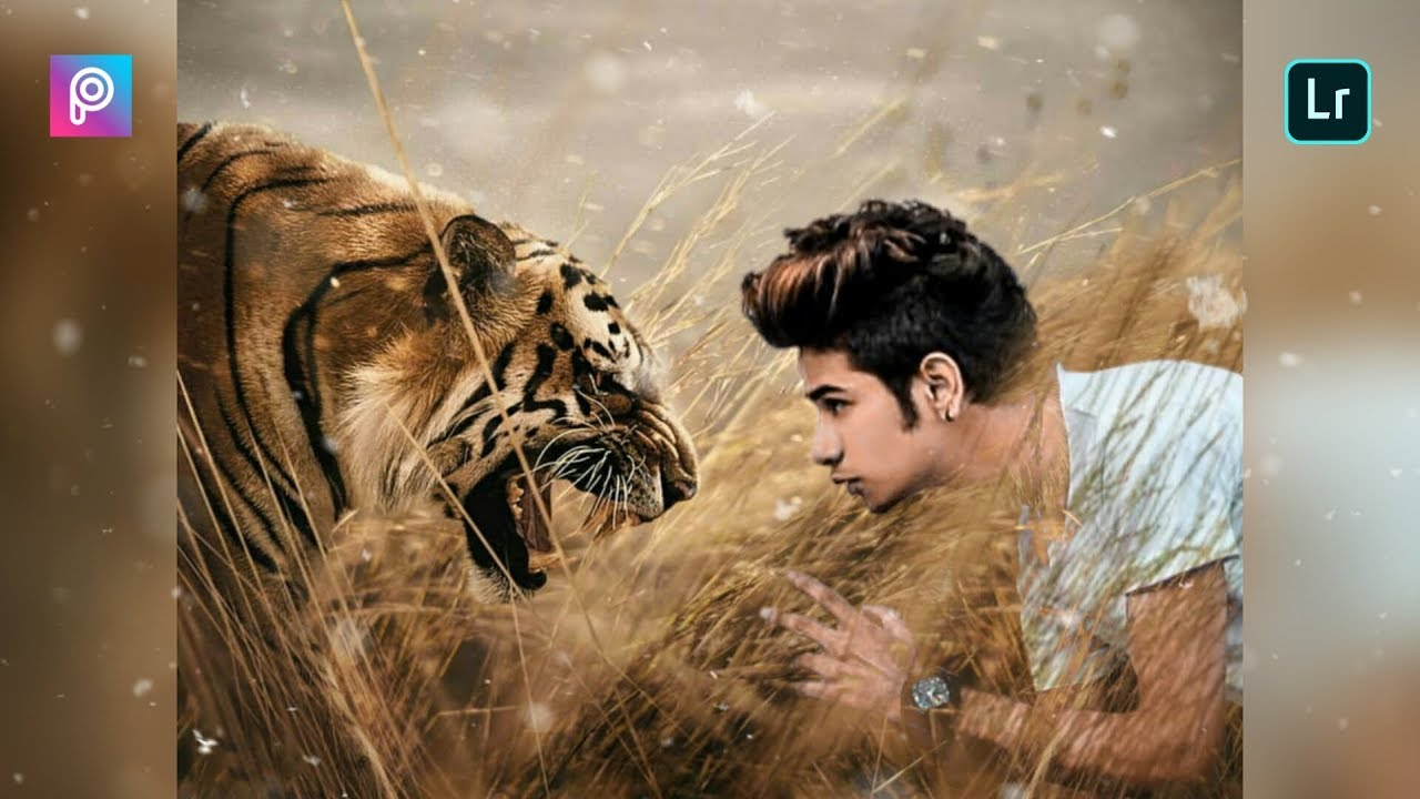 Vijay mahar tiger photo editing   Vijay mahar latest photo editing   animal  lover photo editing