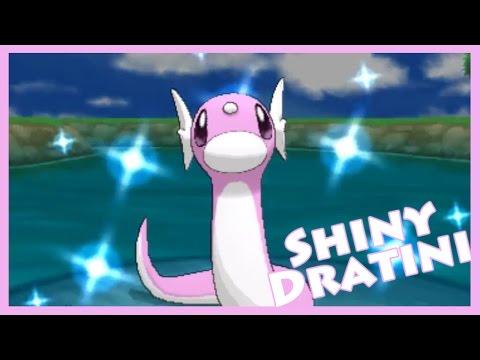 Shiny Chain Fishing - Dratini! Pokemon X [Twitch Highlight]