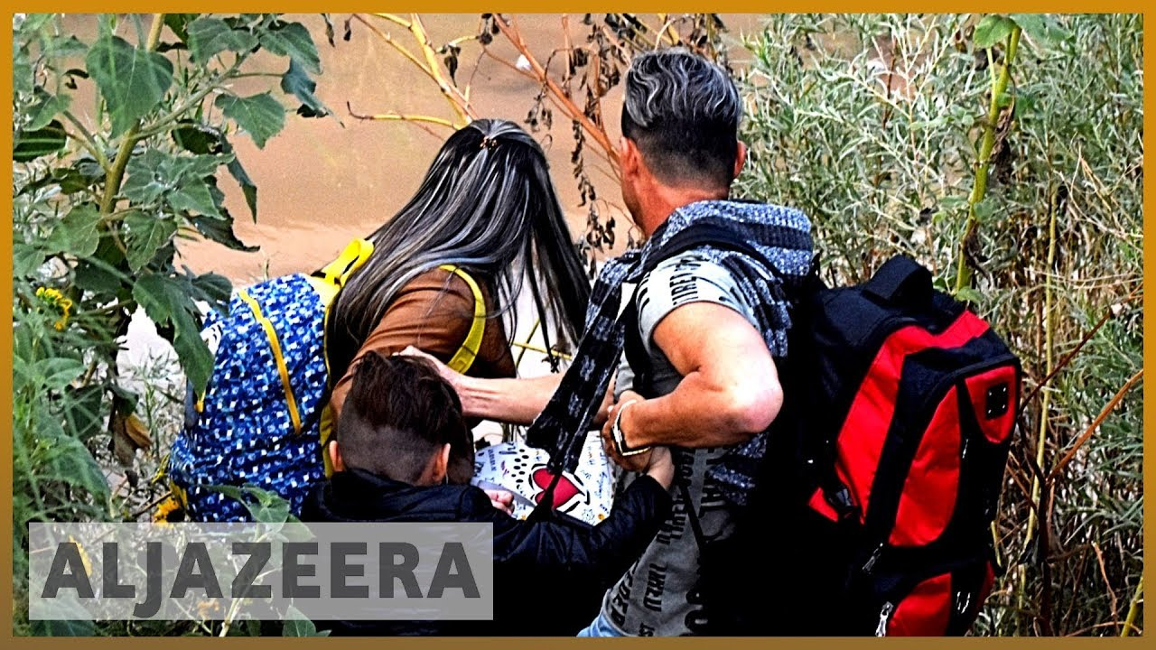 AlJazeera English:Central American migrants risk lives in desert to reach US