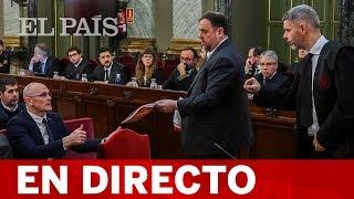 DIRECTO | JUNQUERAS y FORN declaran en el JUICIO al 'PROCÉS'