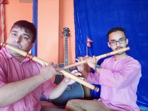 Morning Tune Romantic on flute by Bishwo St. Of JK Bista.