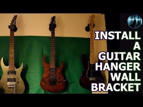 Install A Guitar Hanger Wall Bracket