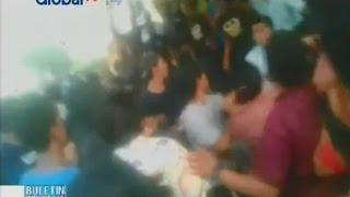 Demo mahasiswa Universitas Muhammadiyah Sumatera Utara berujung ricuh - BIP 14/10