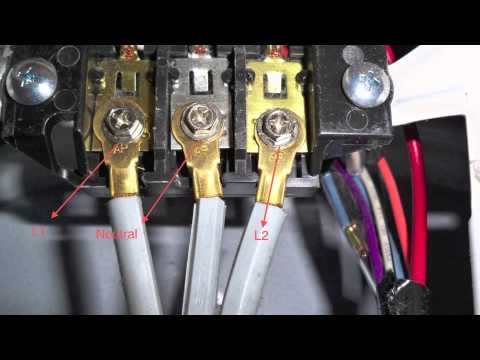 DIY 3 Prong dryer cord wiring appliance repair dryer not - YouTube  Way Wiring Plug For Stove Diagram on