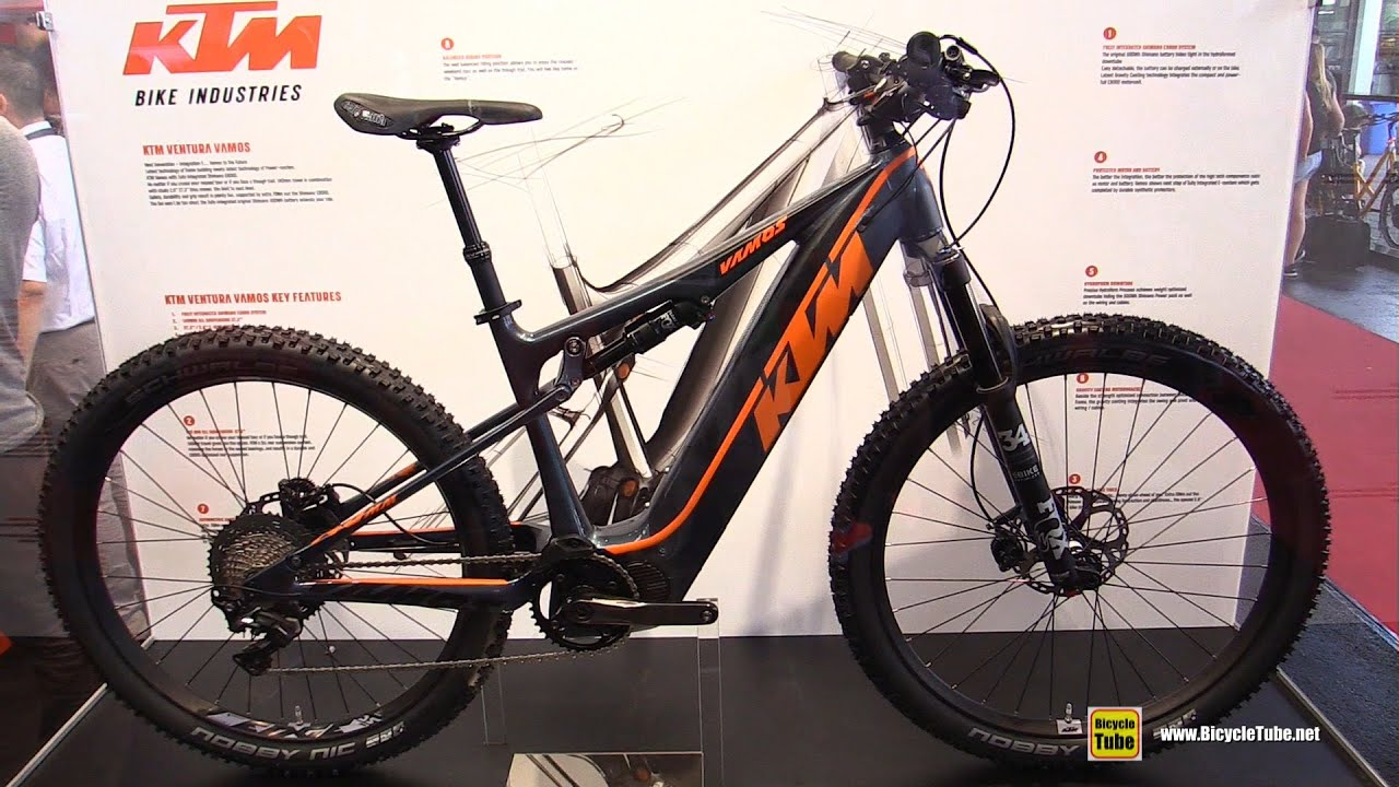 2017 ktm ventura vamos electric mountain bike - walkaround - 2016