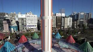 【Ultra HD 2160P】Tokyo Dome City Sky Flower onride POV http://www....
