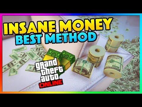 GTA 5 Online: UNLIMITED MONEY METHOD! - Best Fast Easy Money Not Money Glitch PS4/XboxOne/PC 1.45 thumbnail