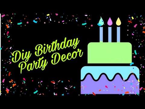 #Happy Birthday |#birthday #party #Decor| #diy |#Handmade #Paper Decoration.