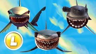 ALL 'L LARGE' SHARKS UNLOCKED - Hungry Shark World - New Shark Gameplay