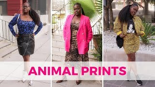 HOW TO STYLE ANIMAL PRINTS TEN WAYS (LOOKBOOK)
