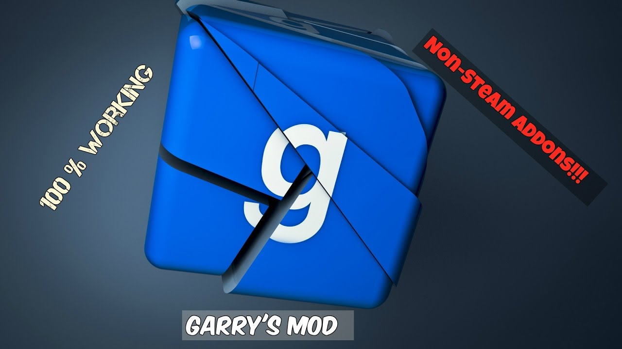 how to add addons to gmod non steam