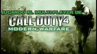 Jugando al multiplayer de Call of Duty 4 Moder Warfare N3on G4mer22