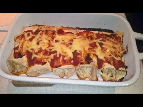 Quick & Easy Shredded Pork Enchiladas (Dr Poon / Low Carb)