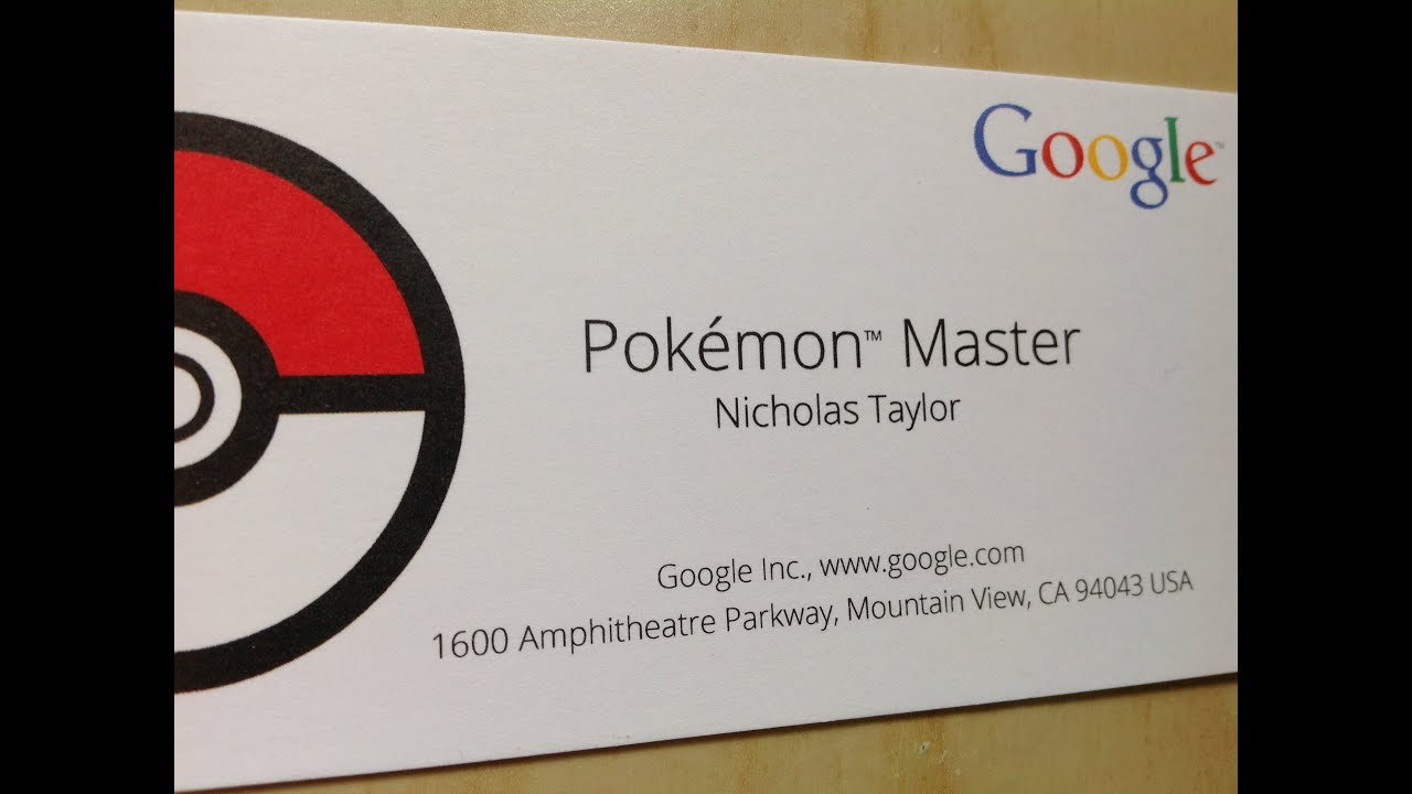 Nerdy thursdy pokemon master business cards youtube magicingreecefo Images