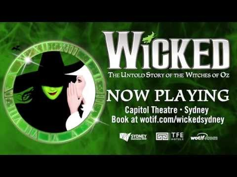 WICKED the Musical - Now playing in Sydney
