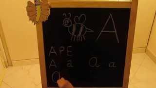 A: Impara l'alfabeto giocando - Alfabeto italiano per Bambini