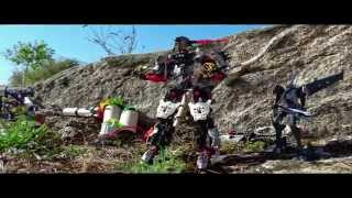 Transformers 3 Megatron In Africa Stop Motion VO