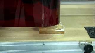 Thermwood Model 43 Machining Acryllic And Plastic Sheets