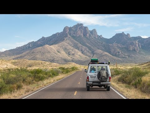 May 19 - May 26, 2017 - Big Bend National Park, Terlingua, Marfa