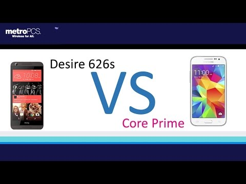 htc Desire 626s VS Samsung Core Prime ( metroPCS )