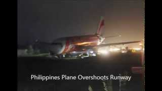 AirAsia Plane with 159 aboard overshoots Philippine Runway