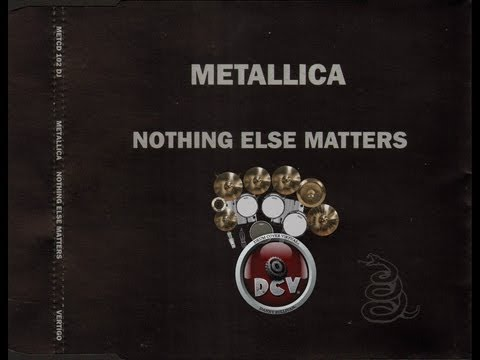 Metallica - Nothing Else Matters + Lyrics (Drum Cover Virtual) [HD] [DvDrum 2]