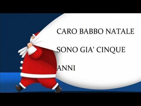 Caro Babbo Natale - Canzoni natalizie con testo
