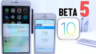iOS 10 Beta 5 What's New ?