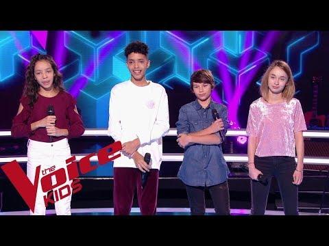 Louane - Si T'étais Là | Stella - Camila & Zion Luna - Lilian | The Voice Kids France 2018 |Battles