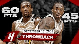 The Game Gilbert Arenas Scored 60 POINTS vs Kobe Bryant! EPIC Duel Highlights   December 17, 2006