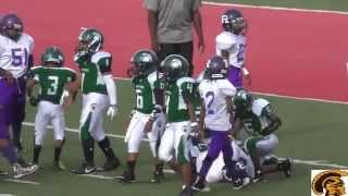 Eastside Raiders vs. Detroit Spartans (D-Team) Game Highlights (9-26-2015)