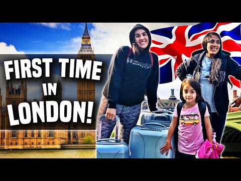Americans Go to London For the First Time 🇬🇧 Family Travel Vlog - Reezy fam vlogs 001