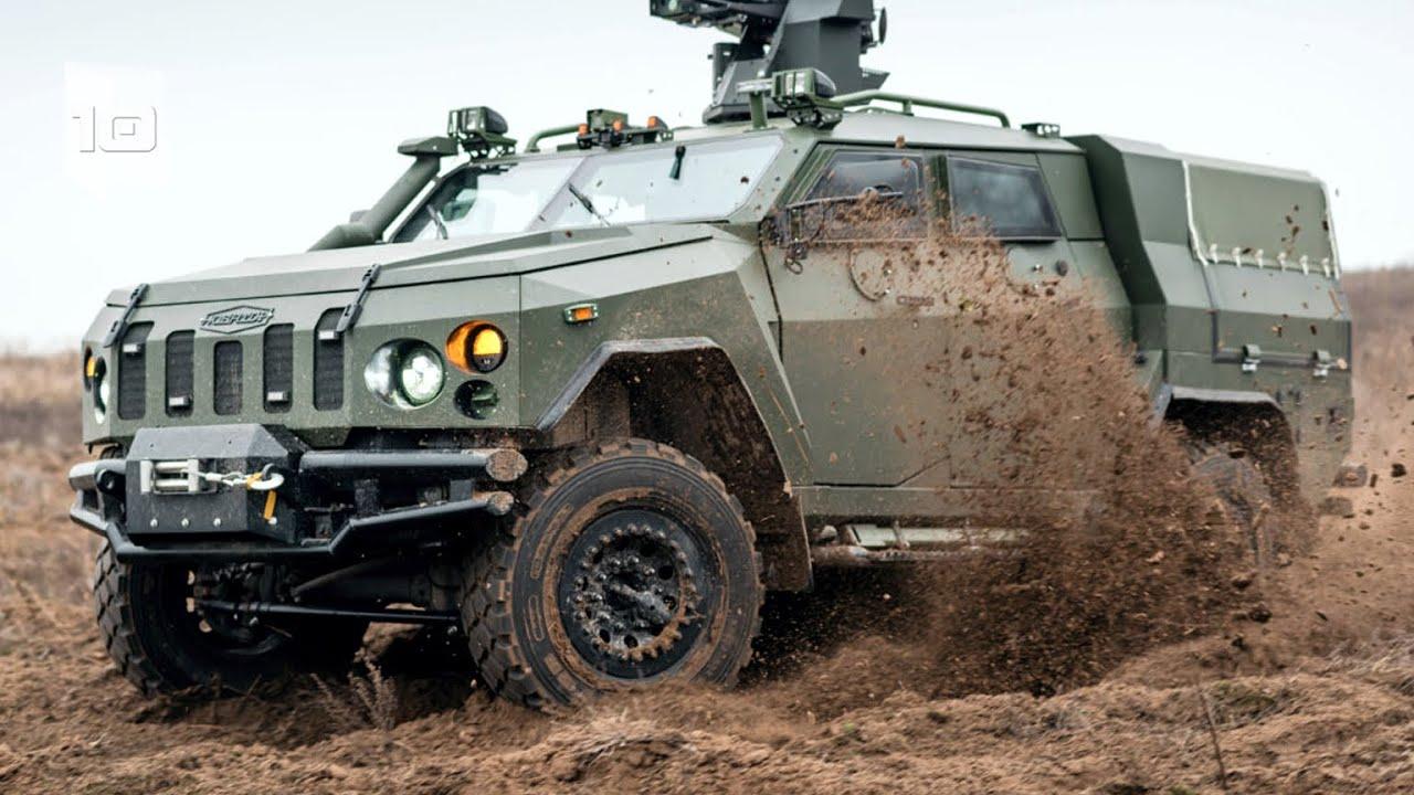 10 Vehículos Blindados Militares más Sorprendentes del Mundo. Parte 4