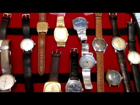 Small Collection SWISS mechanical watches...