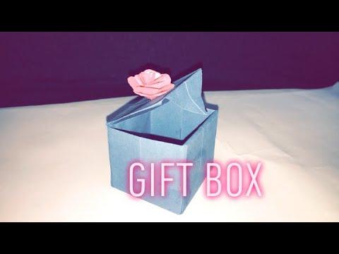 DIY paper gift box 🎁