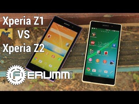 Sony Xperia Z2 VS Xperia Z1 большое сравнение. Битва японцев Z2 VS Z1 от FERUMM.COM