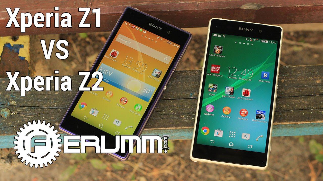 Sony Xperia Z2 VS Xperia Z1 большое сравнение. Битва