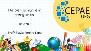 """""""De pergunta em pergunta"""" do livro Gente, Bicho, Planta: o mundo me encanta, de Ana Maria Machado."""
