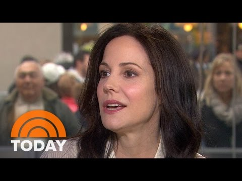 MaryLouise Parker: New Book Consists Of Notes To The Men In My Life  TODAY