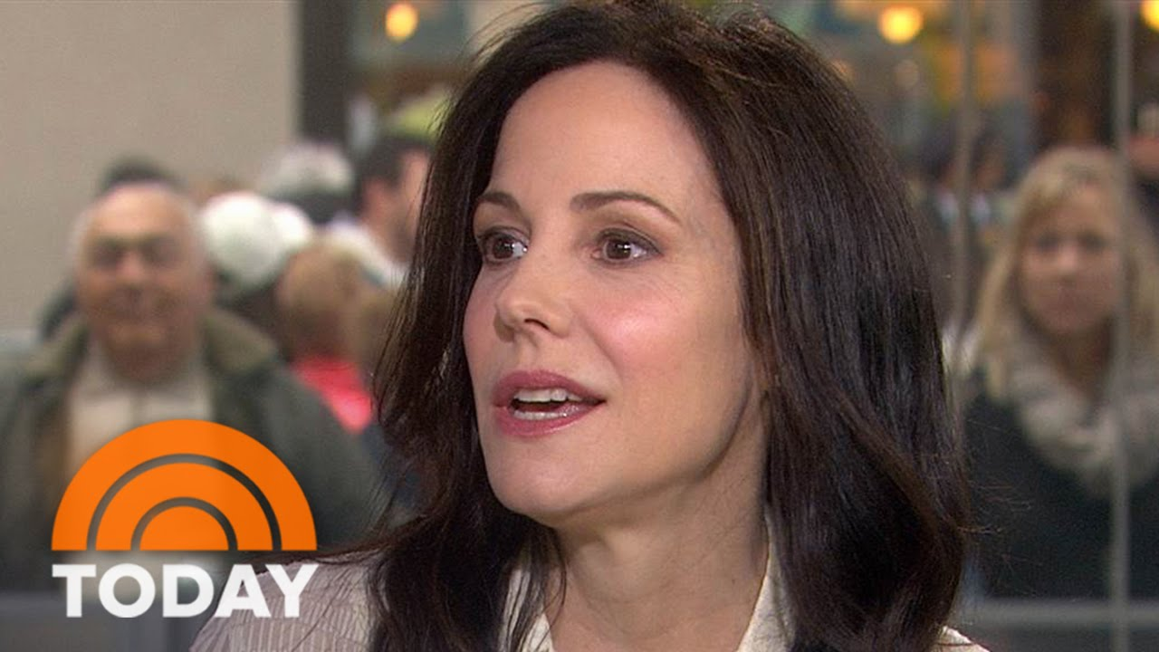 Mary-Louise Parker: New Book Consists Of Notes To The Men In My Life |  TODAY - YouTube