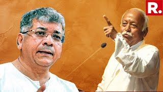 Prakash Ambedkar Stokes Controversy Says And39will Jail Mohan Bhagwat If We Come To Powerand39