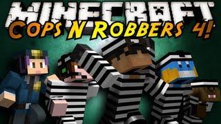 Video Minecraft Mini-Game : COPS N ROBBERS 4! download MP3, 3GP, MP4, WEBM, AVI, FLV Agustus 2017