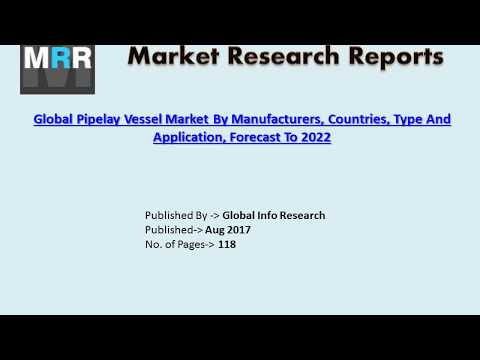 Global Pipelay Vessel Market Competition Trend, Size, Growth and Revenue Forecast to 2022.