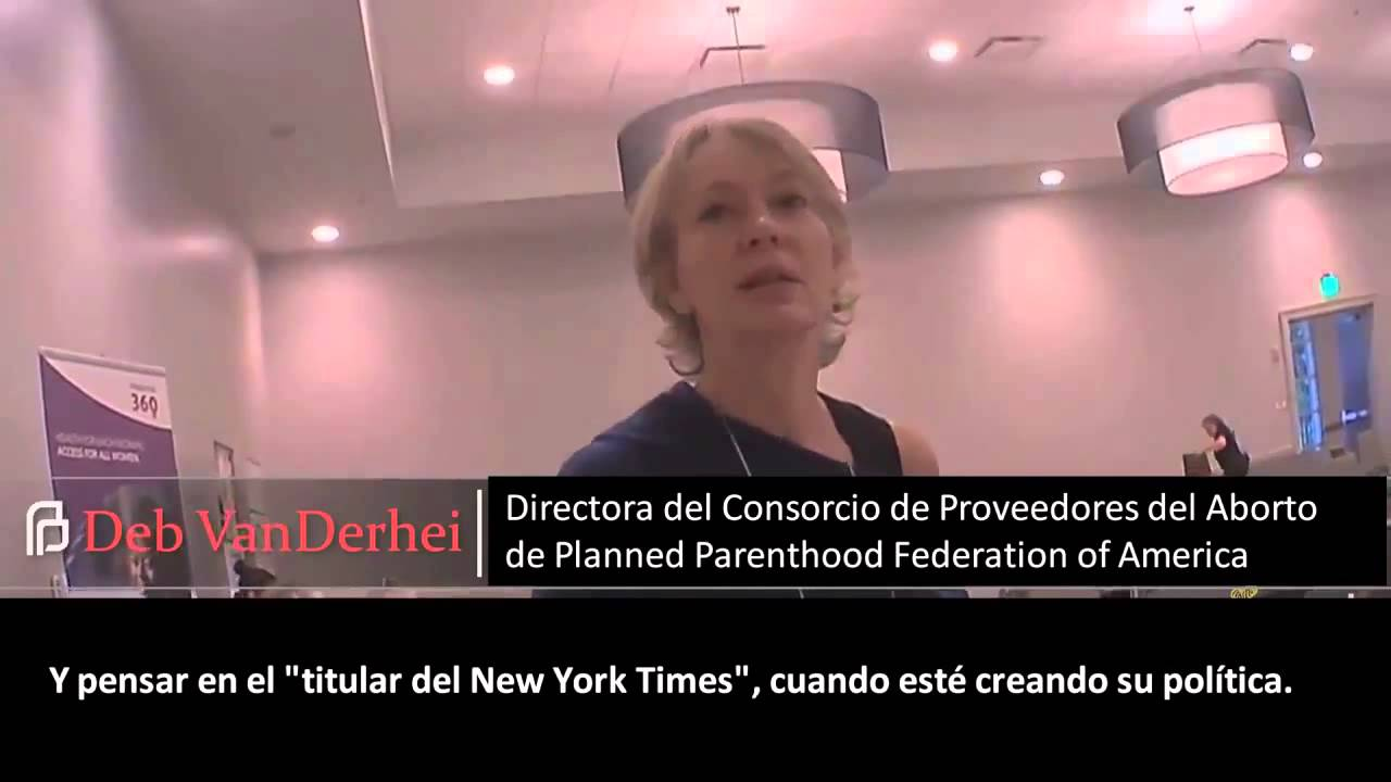 10° VIDEO EN ESPAÑOL - Planned Parenthood vende partes de bebés descuartizados.