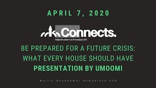 Be Prepaed for a Future Crisis - What Every House Should Have (Umoomi)