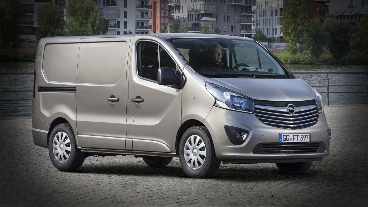 2015 Opel/Vauxhall Vivaro Commercial Van - YouTube