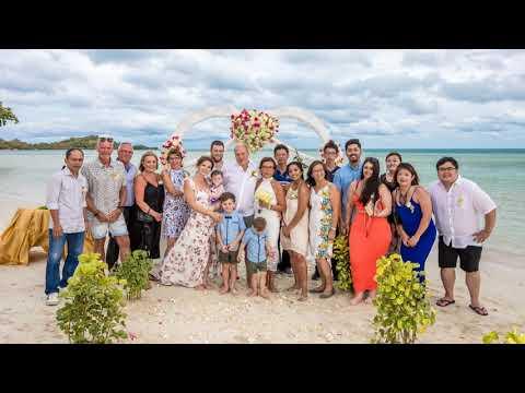 Sherry & John Wedding Koh Samui - Chaba Cabana Beach Resort